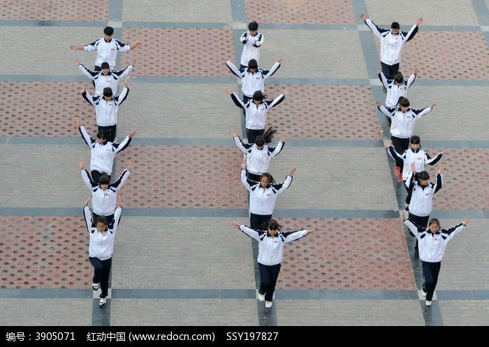 校园青春舞图片