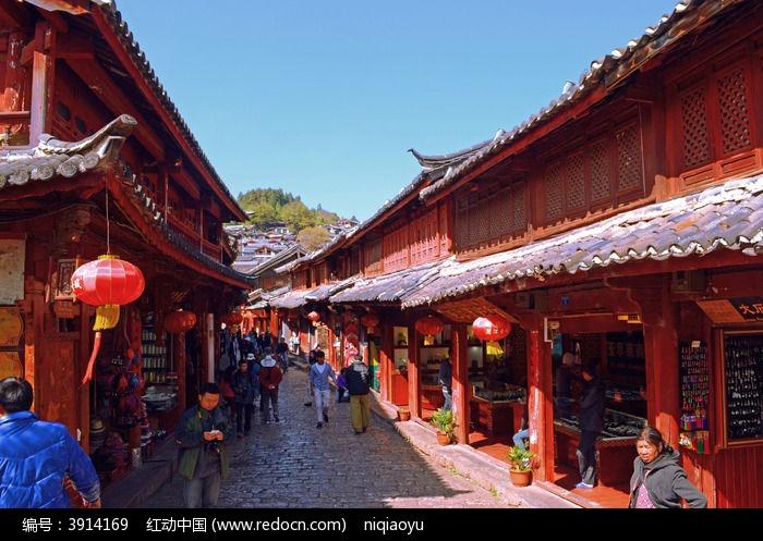 丽江古城建筑图片,高清大图