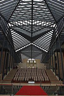 西安小雁塔博物馆观影厅