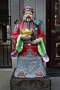 财神爷塑像