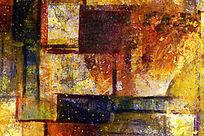 抽象油画 色块抽象画 无框画
