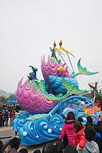 海洋主题公园动物巡演