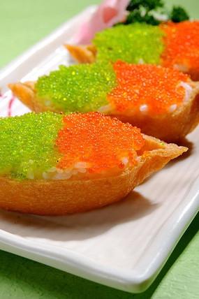 可口的腐皮军舰寿司