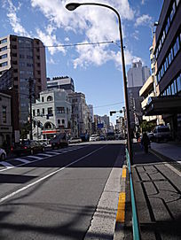 日本东京街头白天