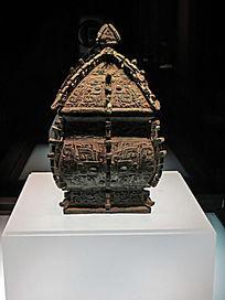 铜方彝铜器