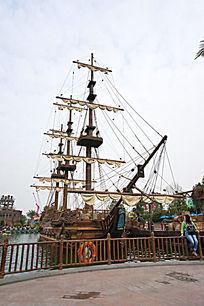 珠海海洋公园船