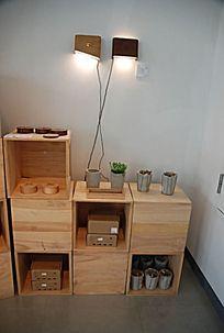 创意设计摆设与箱体构造