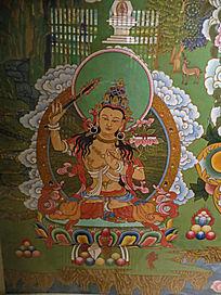 敦煌壁画菩萨佛像