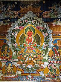 敦煌壁画释迦摩尼佛
