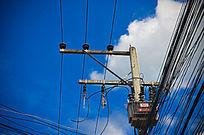 高压电线杆子