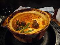 日本料理豆腐汤