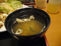 日本料理味增汤