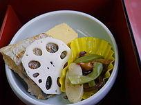 日本料理小菜