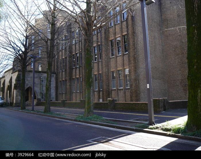 日本欧式学校建筑图片
