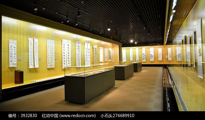 温州博物馆书画展览馆图片