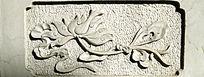 花卉图案纹样石刻