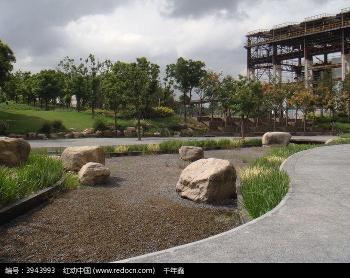 景观置石旱溪