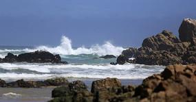 南非礁岩海滩