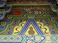葫芦为中心的壁画