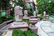 上海徐汇苑至尊公寓局部景观配套