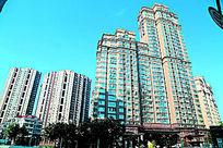 上海徐汇苑至尊公寓外墙建筑大楼全景