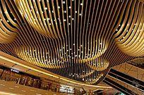 环贸中心大厅顶部照明
