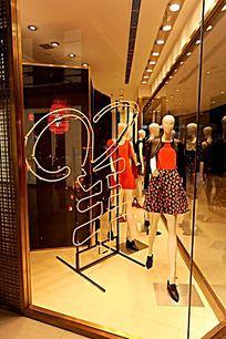 环贸中心内场设计 服装橱窗