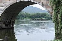 毛家埠的拱桥景观
