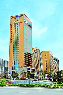宁波豪生大酒店酒店大楼外观