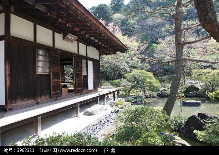 手绘日式房屋图片大全