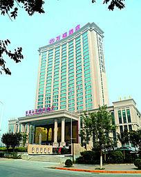 陕西宝鸡万福酒店建筑大楼外墙