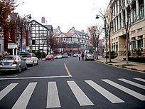 泰晤士小镇的中央大街