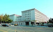 天津市政府大楼外墙全景