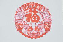 中国元素剪纸图片