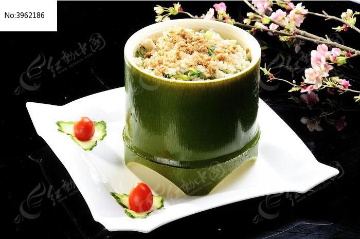 竹筒饭图片,高清大图_中国菜系素材