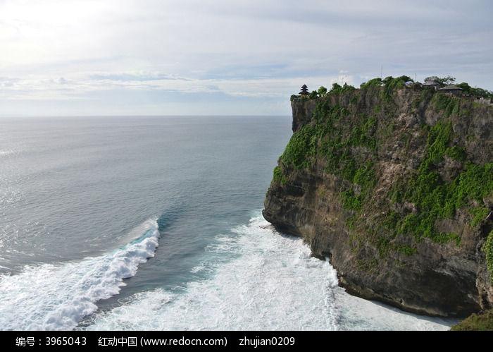 巴厘岛海神庙巨岩