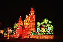 卡通城堡灯