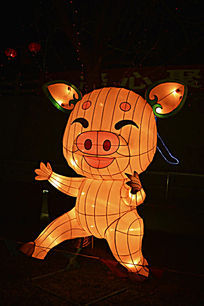 卡通猪灯(12生肖)
