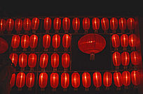 中国红·红灯壁