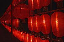 中国红·红灯墙