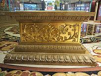 铜装饰花纹底座
