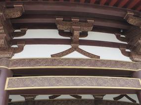 古建筑塔结构花纹