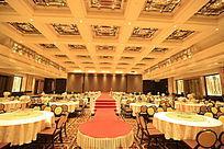 婚礼大厅正面
