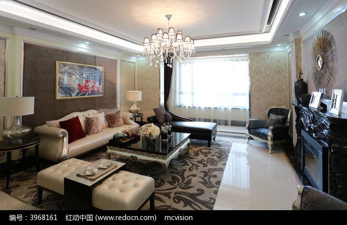 客厅地毯图片,高清大图