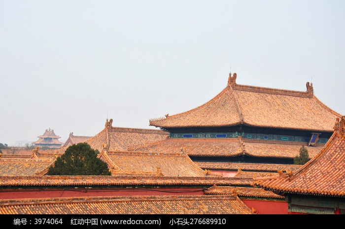琉璃瓦屋顶图片