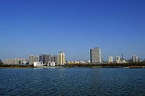 龙源湖北岸景观