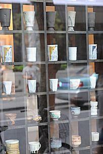 田子坊的创意茶杯店