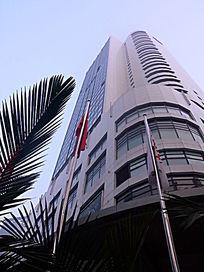 重庆海逸酒店的外景