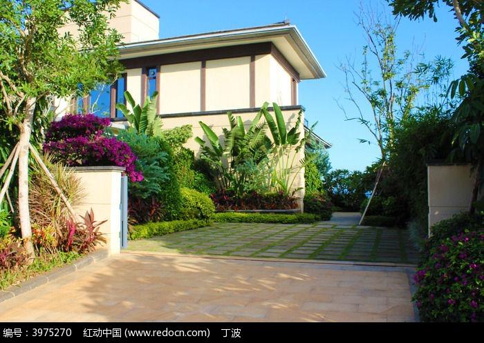 富力湾园林别墅别墅及停车位外观大门门什么好看比例子母图片