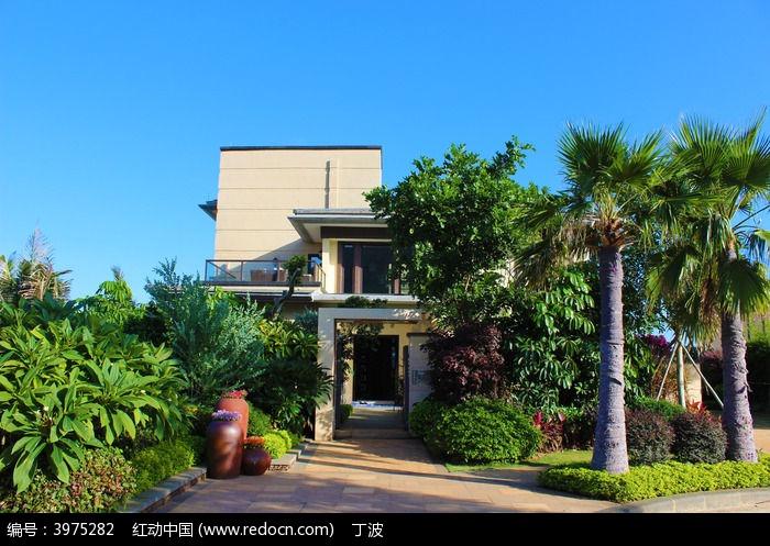 海南富力湾半山别墅与园林景观图楼梯省钱别墅图片